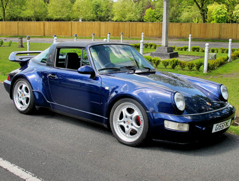 Porsche 911 964 Carrera 4 Targa Turbo-bodied Supercharged